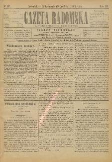 Gazeta Radomska, 1886, R. 3, nr 97
