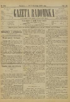 Gazeta Radomska, 1886, R. 3, nr 100
