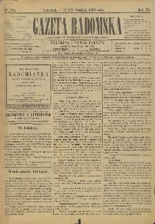 Gazeta Radomska, 1886, R. 3, nr 102