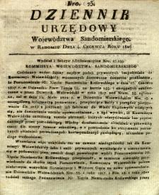 Dziennik Urzędowy Województwa Sandomierskiego, 1826, nr 23