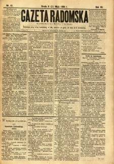 Gazeta Radomska, 1890, R. 7, nr 41