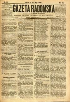 Gazeta Radomska, 1890, R. 7, nr 44