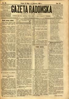 Gazeta Radomska, 1890, R. 7, nr 45