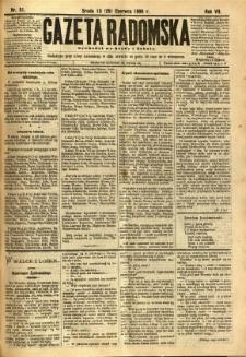 Gazeta Radomska, 1890, R. 7, nr 51