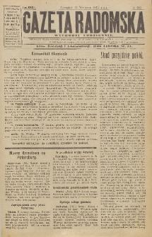 Gazeta Radomska, 1917, R. 32, nr 204