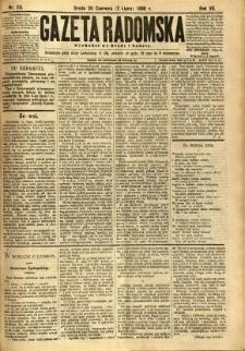 Gazeta Radomska, 1890, R. 7, nr 53