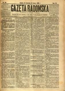 Gazeta Radomska, 1890, R. 7, nr 54