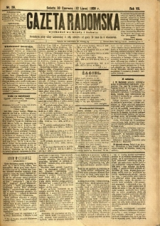 Gazeta Radomska, 1890, R. 7, nr 56