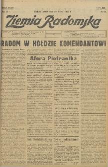 Ziemia Radomska, 1935, R. 8, nr 67