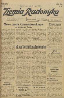 Ziemia Radomska, 1935, R. 8, nr 68