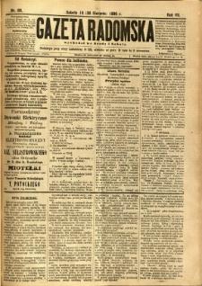 Gazeta Radomska, 1890, R. 7, nr 69