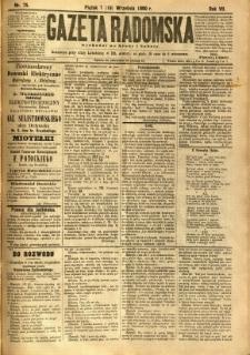 Gazeta Radomska, 1890, R. 7, nr 75