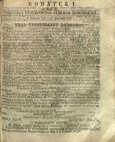 Dziennik Urzędowy Gubernii Radomskiej, 1854, nr 37, dod. I
