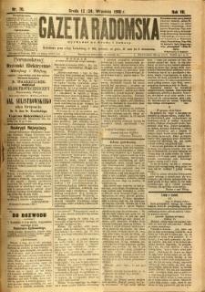Gazeta Radomska, 1890, R. 7, nr 76