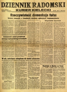 Dziennik Radomski : Kurier Kielecki, 1944, R. 5, nr 285