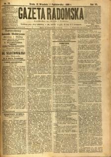 Gazeta Radomska, 1890, R. 7, nr 78