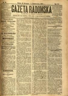 Gazeta Radomska, 1890, R. 7, nr 81