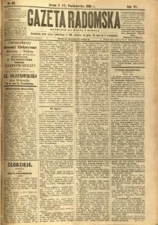 Gazeta Radomska, 1890, R. 7, nr 82