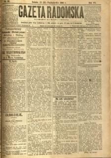 Gazeta Radomska, 1890, R. 7, nr 85