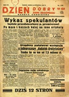 Dzień Dobry Ziemi Radomskiej, 1937, R. 7, nr 162