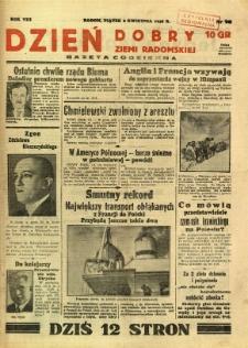 Dzień Dobry Ziemi Radomskiej, 1938, R. 8, nr 98