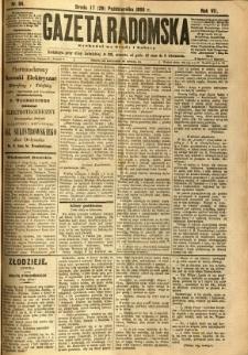Gazeta Radomska, 1890, R. 7, nr 86