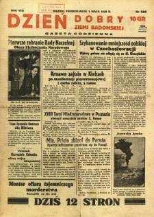 Dzień Dobry Ziemi Radomskiej, 1938, R. 8, nr 120