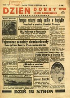 Dzień Dobry Ziemi Radomskiej, 1938, R. 8, nr 155