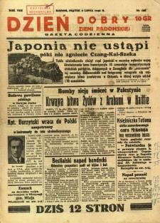 Dzień Dobry Ziemi Radomskiej, 1938, R. 8, nr 186