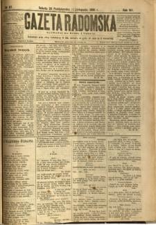Gazeta Radomska, 1890, R. 7, nr 87