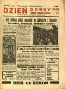 Dzień Dobry Ziemi Radomskiej, 1938, R. 8, nr 275