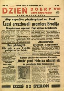 Dzień Dobry Ziemi Radomskiej, 1938, R. 8, nr 298