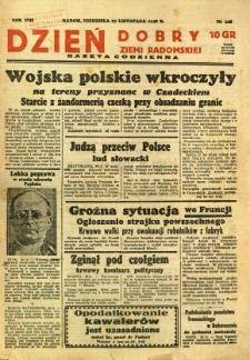 Dzień Dobry Ziemi Radomskiej, 1938, R. 8, nr 328