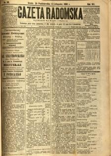 Gazeta Radomska, 1890, R. 7, nr 88