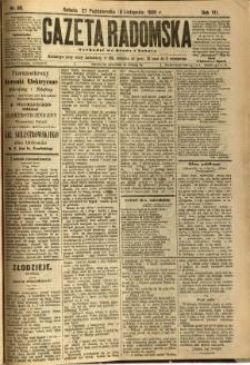 Gazeta Radomska, 1890, R. 7, nr 89