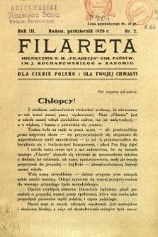 Filareta, 1926, R. 3, nr 2