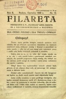 Filareta, 1926, R. 2, nr 10