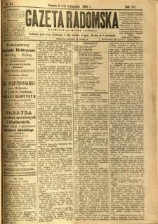 Gazeta Radomska, 1890, R. 7, nr 91