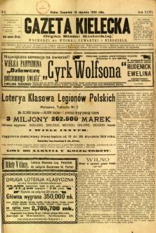 Gazeta Kielecka, 1918, R. 47, nr 5