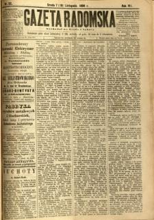 Gazeta Radomska, 1890, R. 7, nr 92