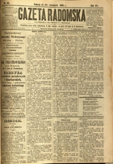 Gazeta Radomska, 1890, R. 7, nr 93