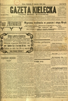 Gazeta Kielecka, 1918, R. 47, nr 11