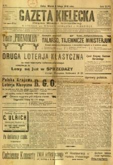 Gazeta Kielecka, 1918, R. 47, nr 15