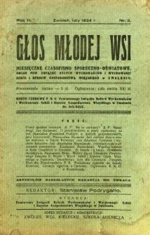Głos Młodej Wsi, 1934, R. 3, nr 2