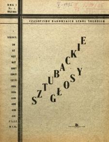 Głosy Sztubackie, 1935, R. 1, nr 1