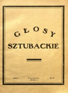 Głosy Sztubackie, 1935, R. 1, nr 2