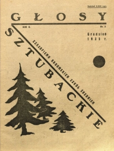 Głosy Sztubackie, 1935, R. 2, nr 3