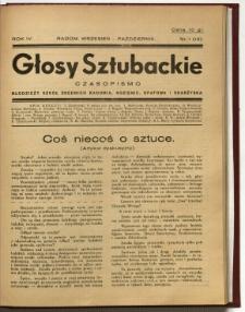 Głosy Sztubackie, 1937, R. 4, nr 1