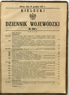 Kielecki Dziennik Wojewódzki, 1937, nr 28