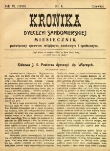 Kronika Diecezji Sandomierskiej, 1916, R. 9, nr 6